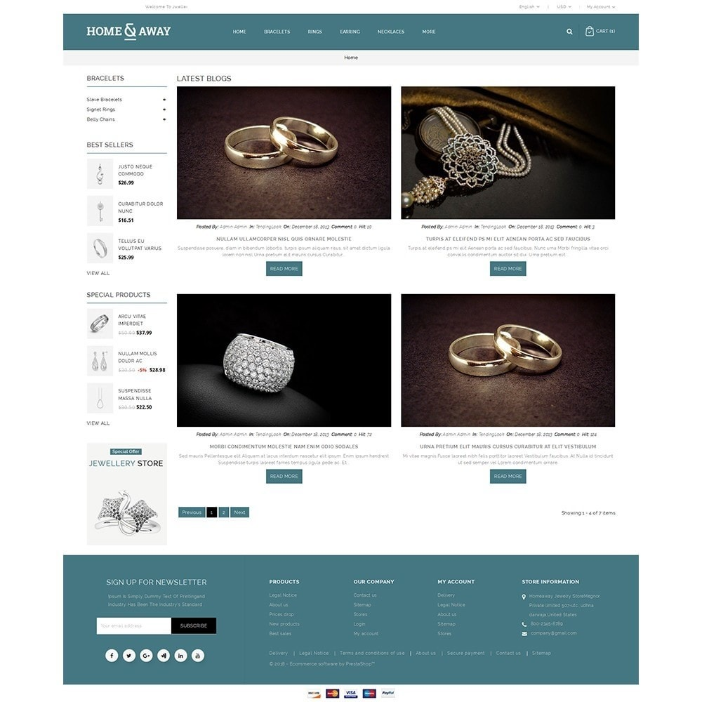 theme - Jewelry & Accessories - Homeaway Jewelry Store - 8