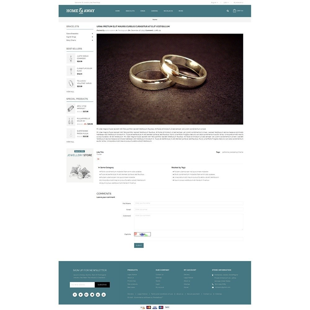 theme - Jewelry & Accessories - Homeaway Jewelry Store - 9