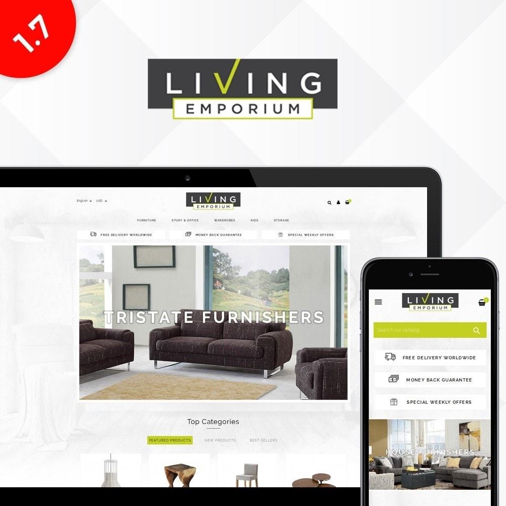 theme - Dom & Ogród - Living Emporium Store - 1