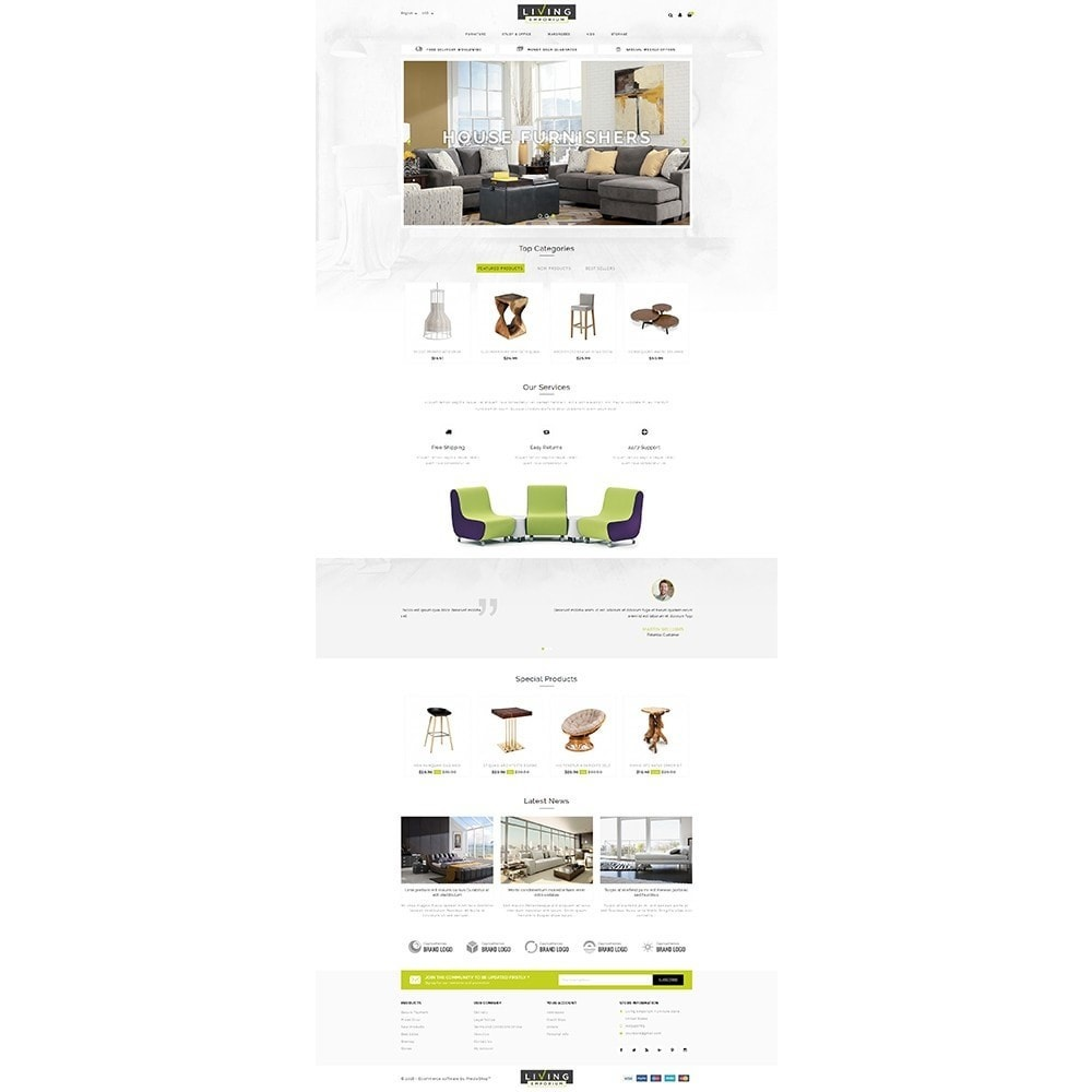 theme - Home & Garden - Living Emporium Store - 2