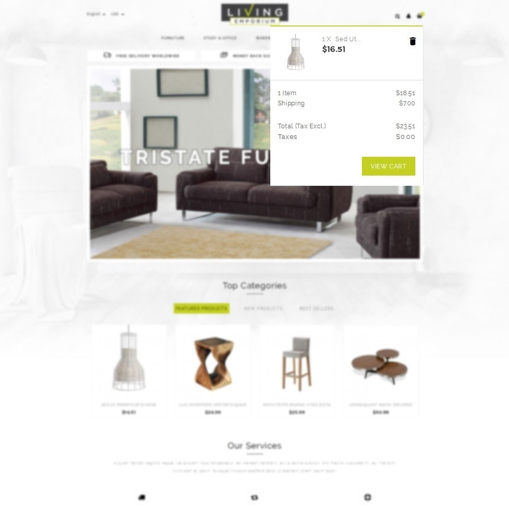 theme - Home & Garden - Living Emporium Store - 8