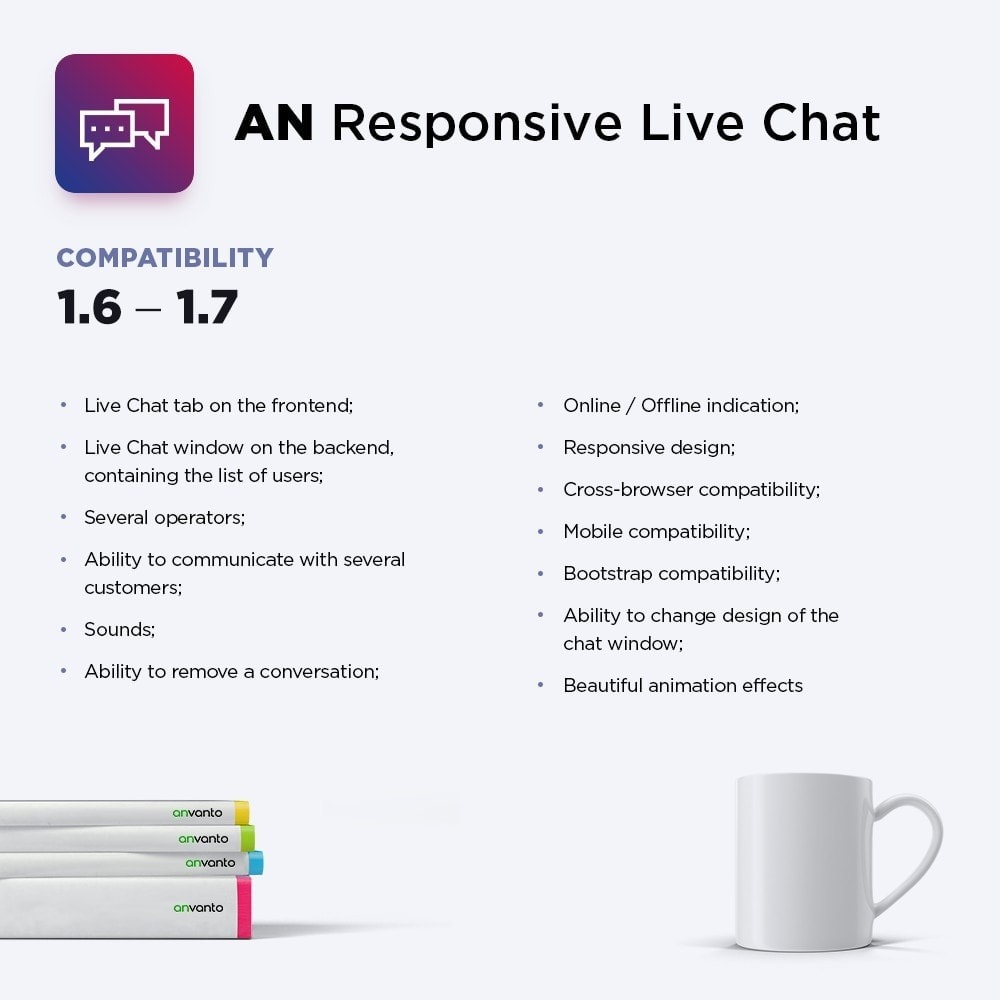 module - Support & Chat Online - AN Responsive Live Chat - 1