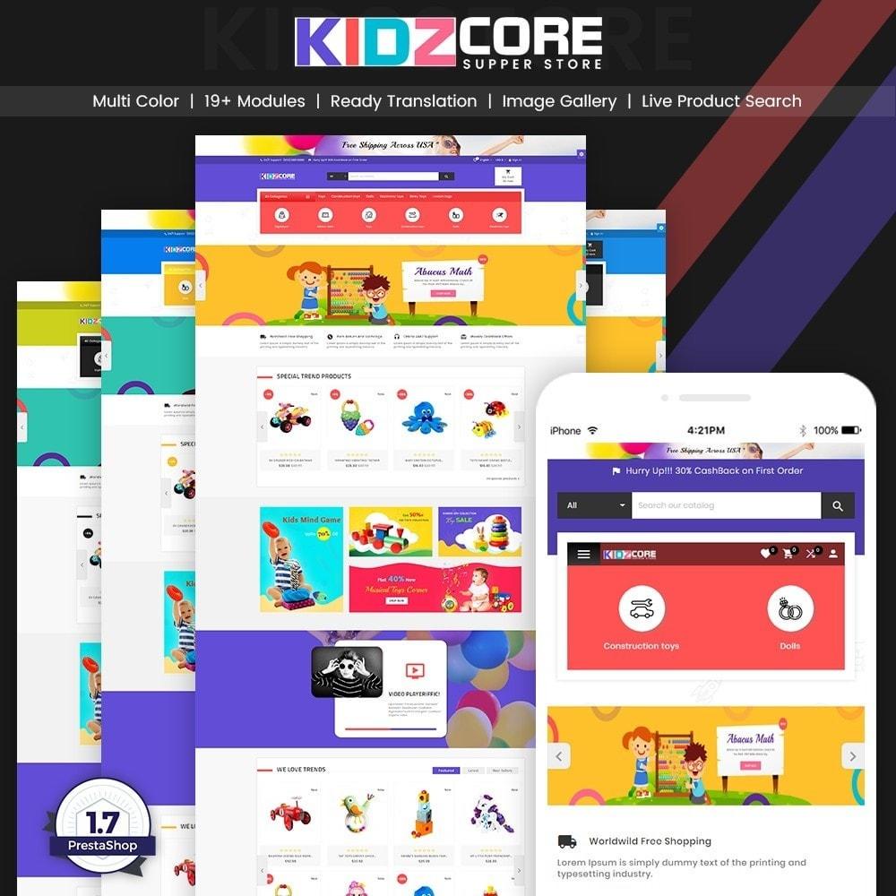 theme - Дети и Игрушки - Kidz Core – Kids Toy Super Store - 1
