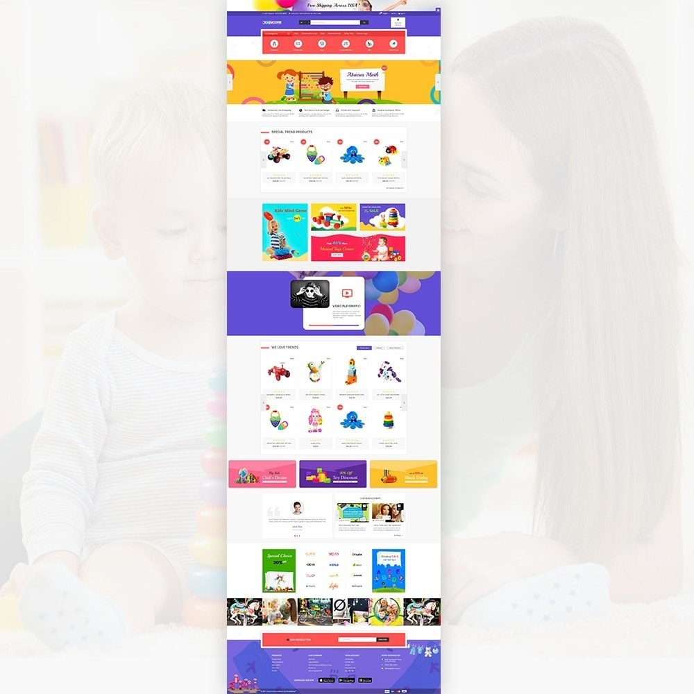 theme - Enfants & Jouets - Kidz Core – Kids Toy Super Store - 2