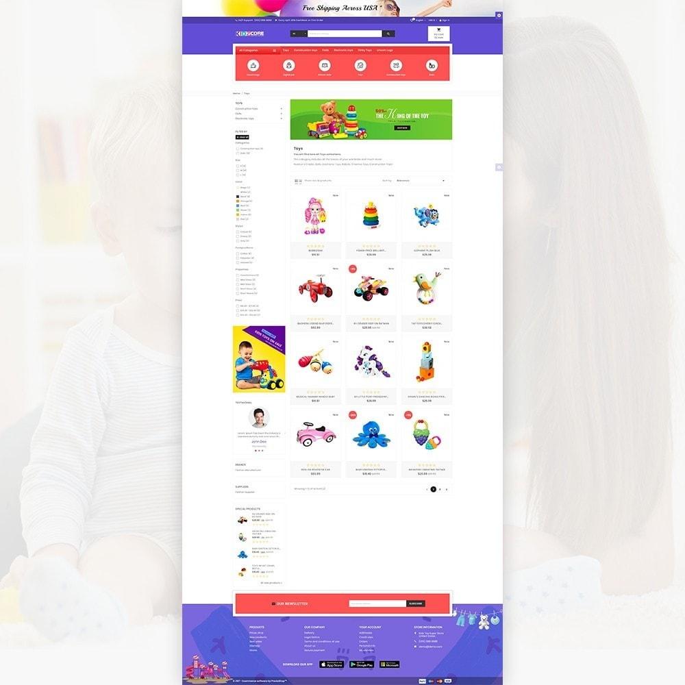 theme - Crianças & Brinquedos - Kidz Core - Kids Toy Super Store - 3