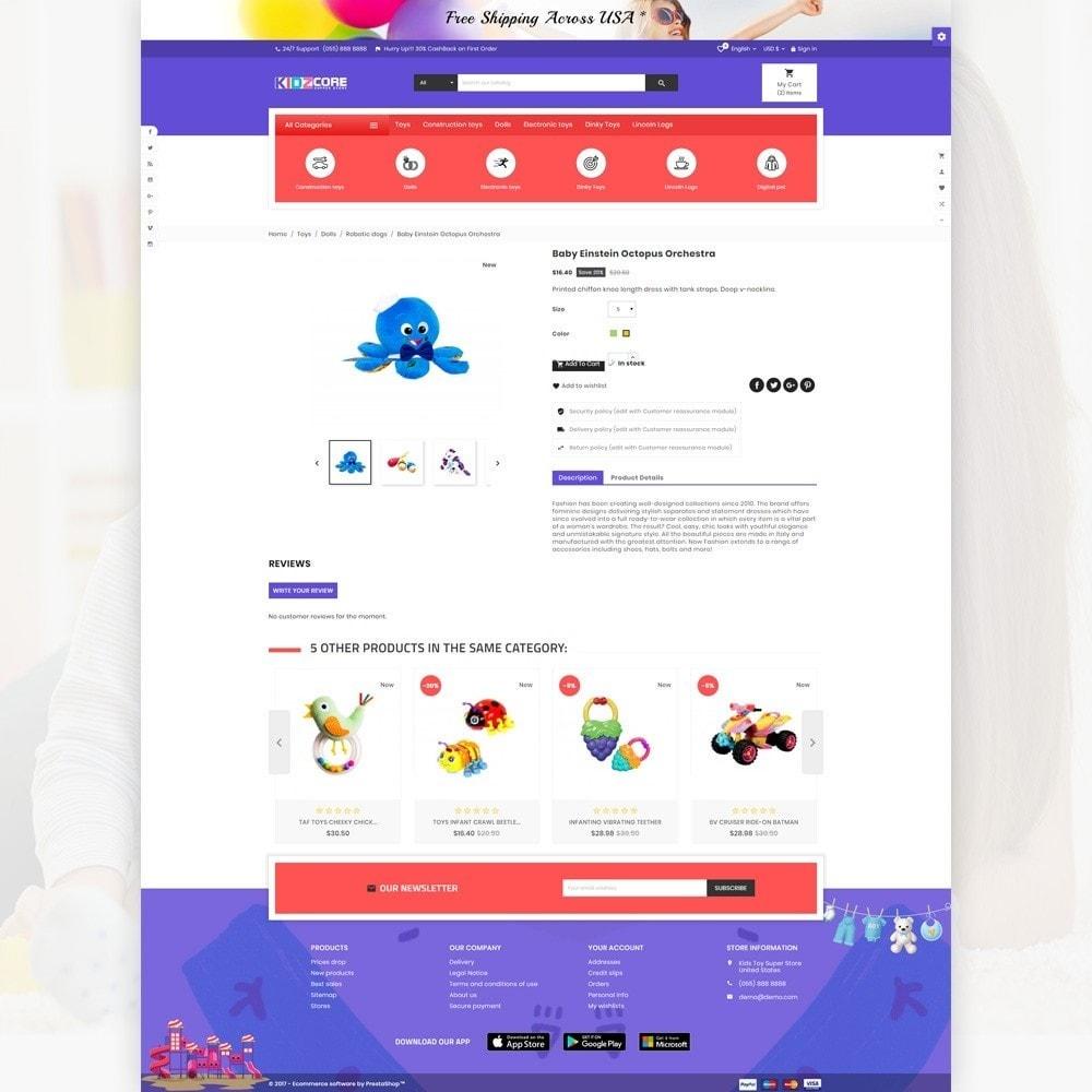 theme - Дети и Игрушки - Kidz Core – Kids Toy Super Store - 4