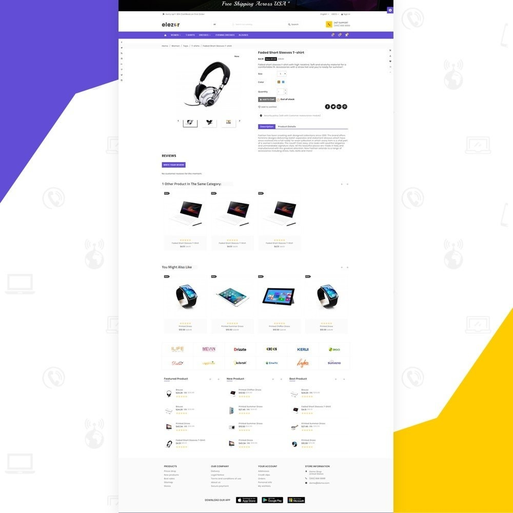 theme - Elektronika & High Tech - Elezor – Electronic Super Store v3 - 4