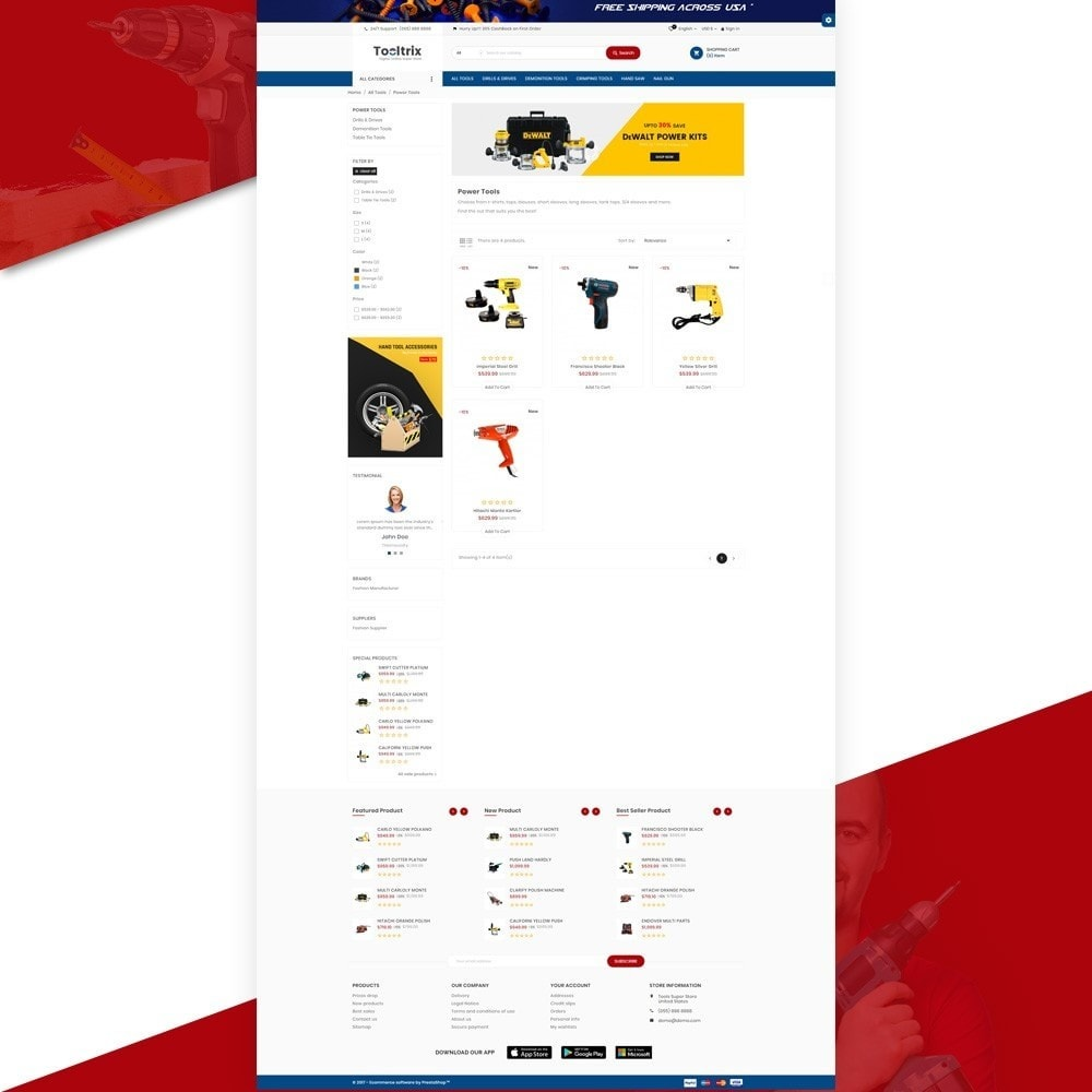 theme - Carros & Motos - ToolTrix – Tools and Parts Super Store v2 - 3
