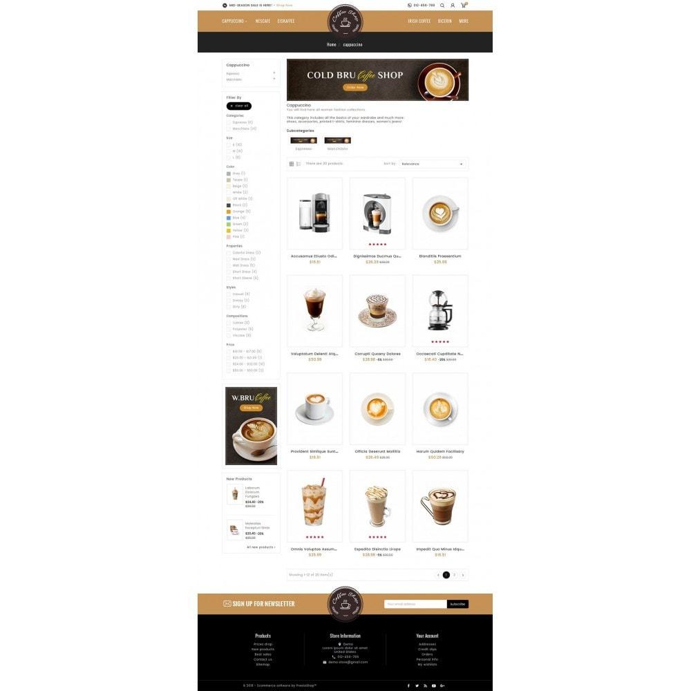 theme - Bebidas & Tabaco - Coffee Shop - 3