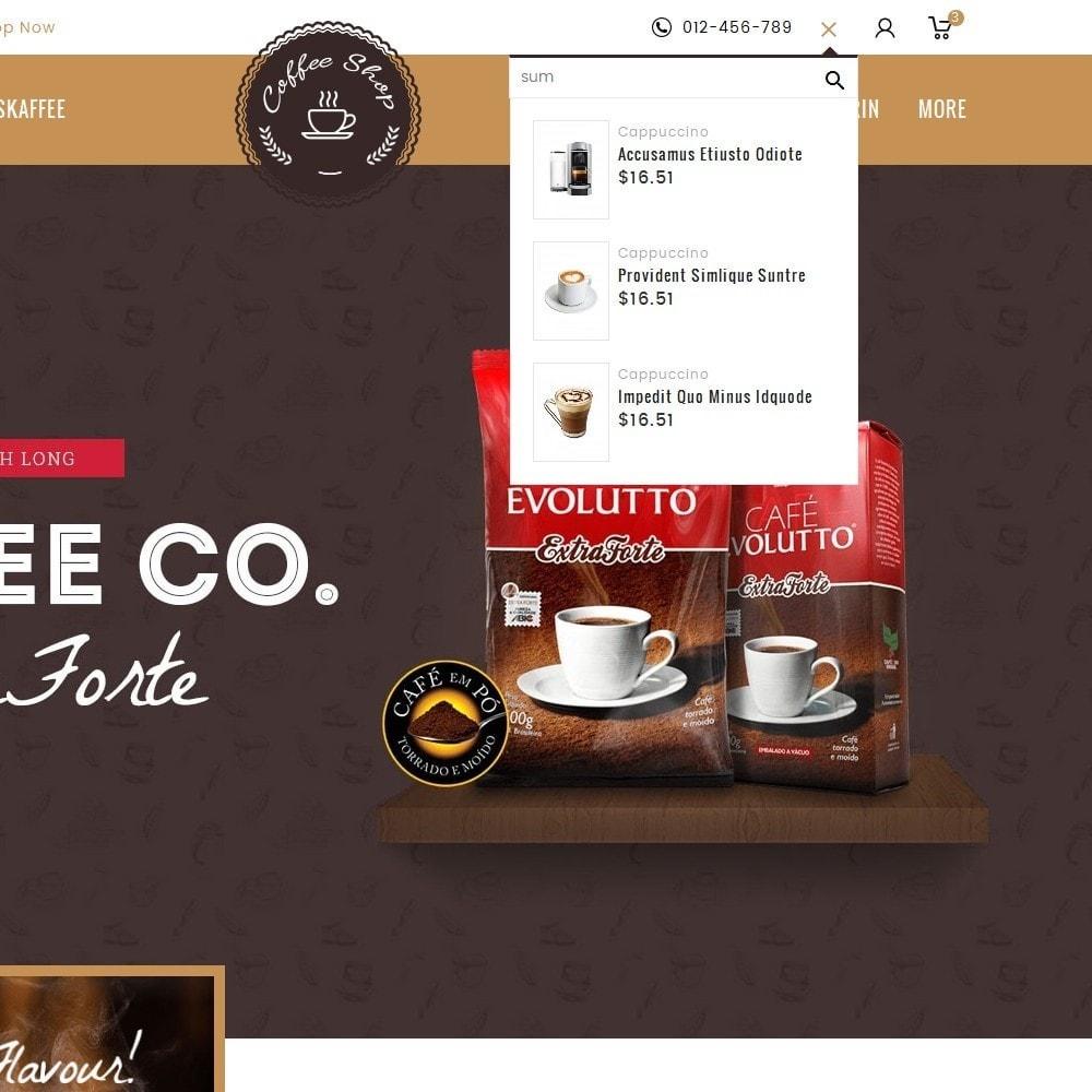 theme - Bebidas & Tabaco - Coffee Shop - 9