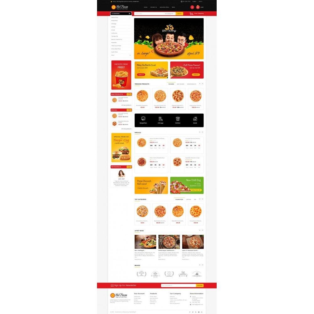 theme - Alimentos & Restaurantes - Paprika Pizza - Fast Food - 2