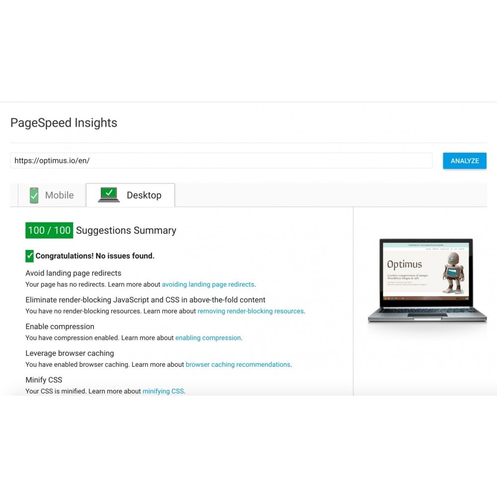 module - Rendimiento del sitio web - GZIP Compression - 3