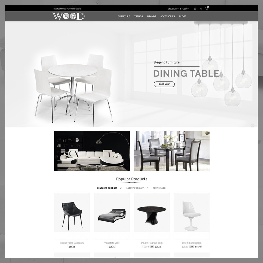 theme - Dom & Ogród - Furniture Store - 2