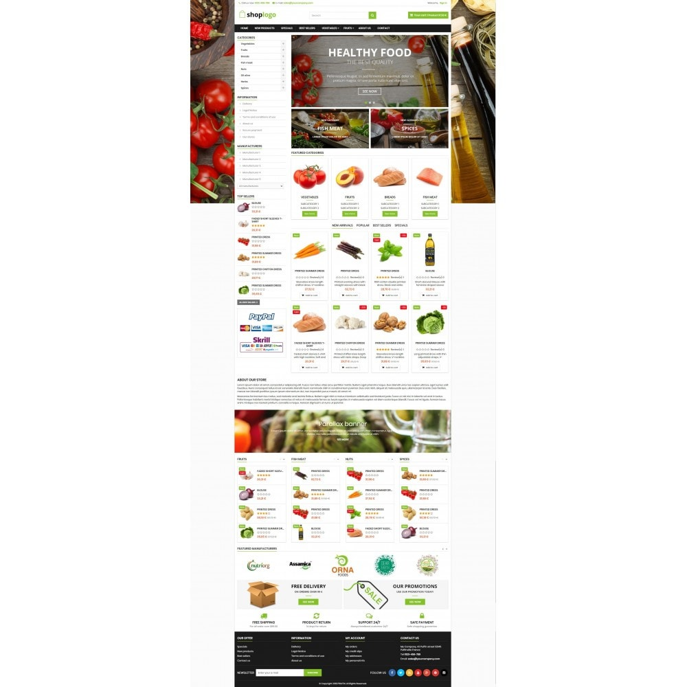 theme - Lebensmittel & Restaurants - P16AT14 Food store - 2
