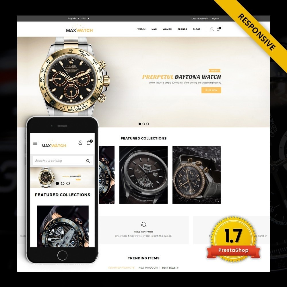 theme - Gifts, Flowers & Celebrations - MaxWatch - Watch store - 1