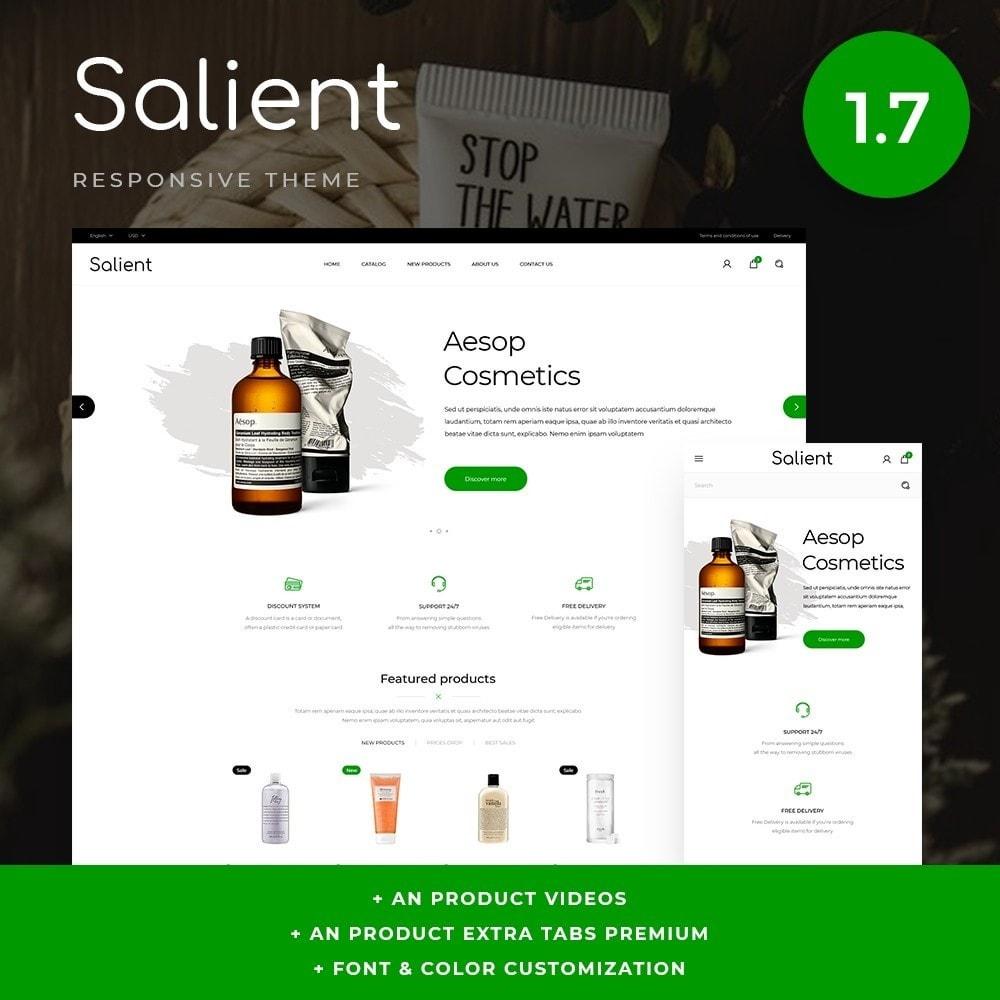 theme - Zdrowie & Uroda - Salient Cosmetics - 1