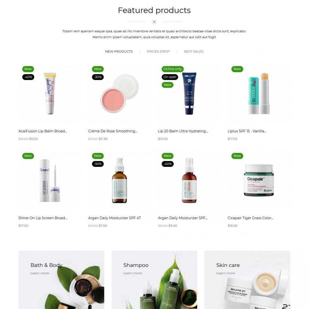 theme - Zdrowie & Uroda - Salient Cosmetics - 3
