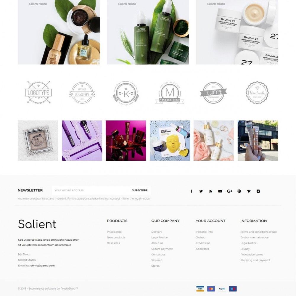 theme - Zdrowie & Uroda - Salient Cosmetics - 4