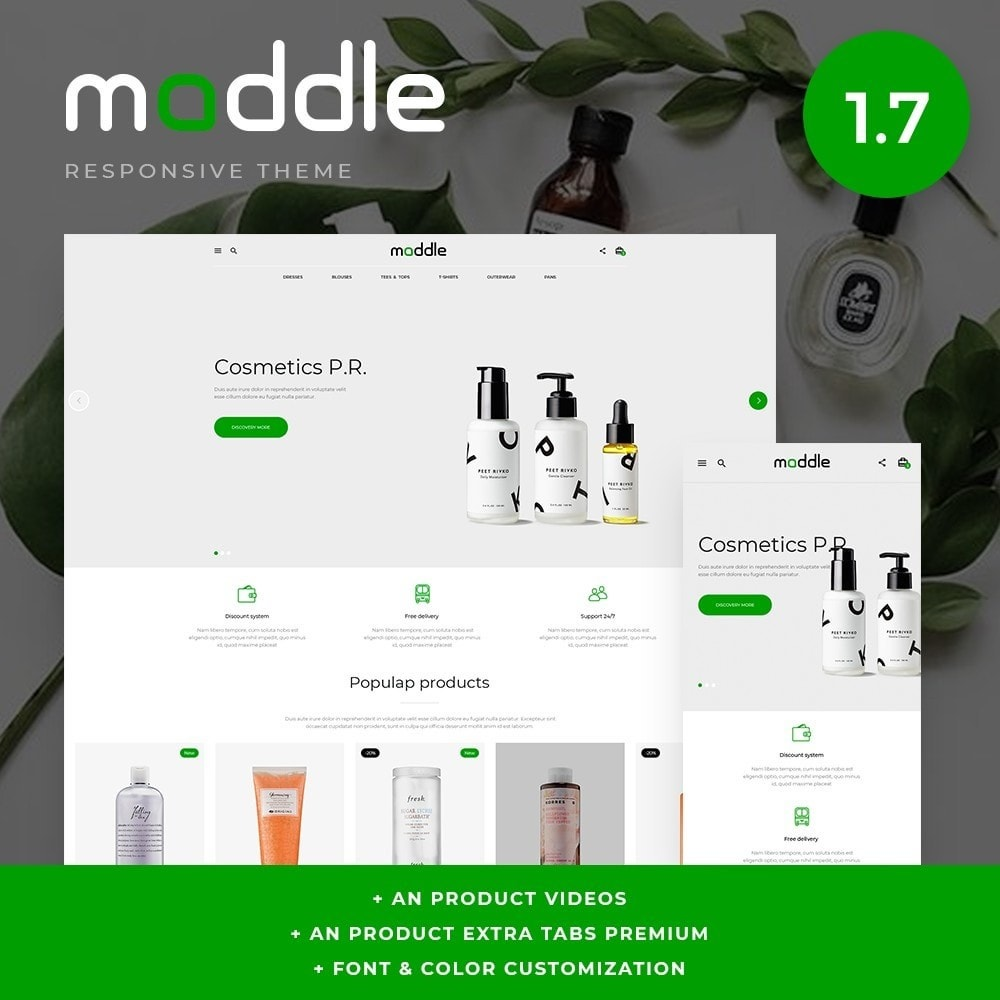 theme - Gesundheit & Schönheit - Maddle Cosmetics - 1