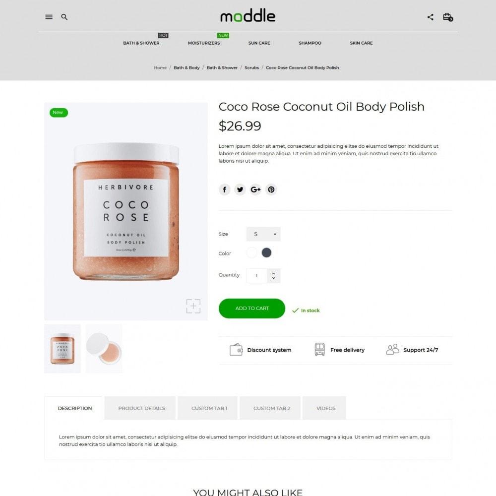 theme - Gesundheit & Schönheit - Maddle Cosmetics - 6