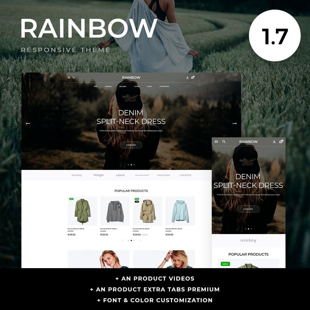 theme - Moda & Calzature - Rainbow Fashion Store - 1