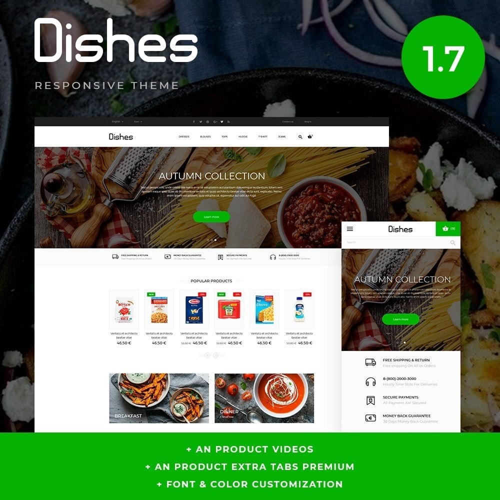 theme - Alimentos & Restaurantes - Dishes - 1