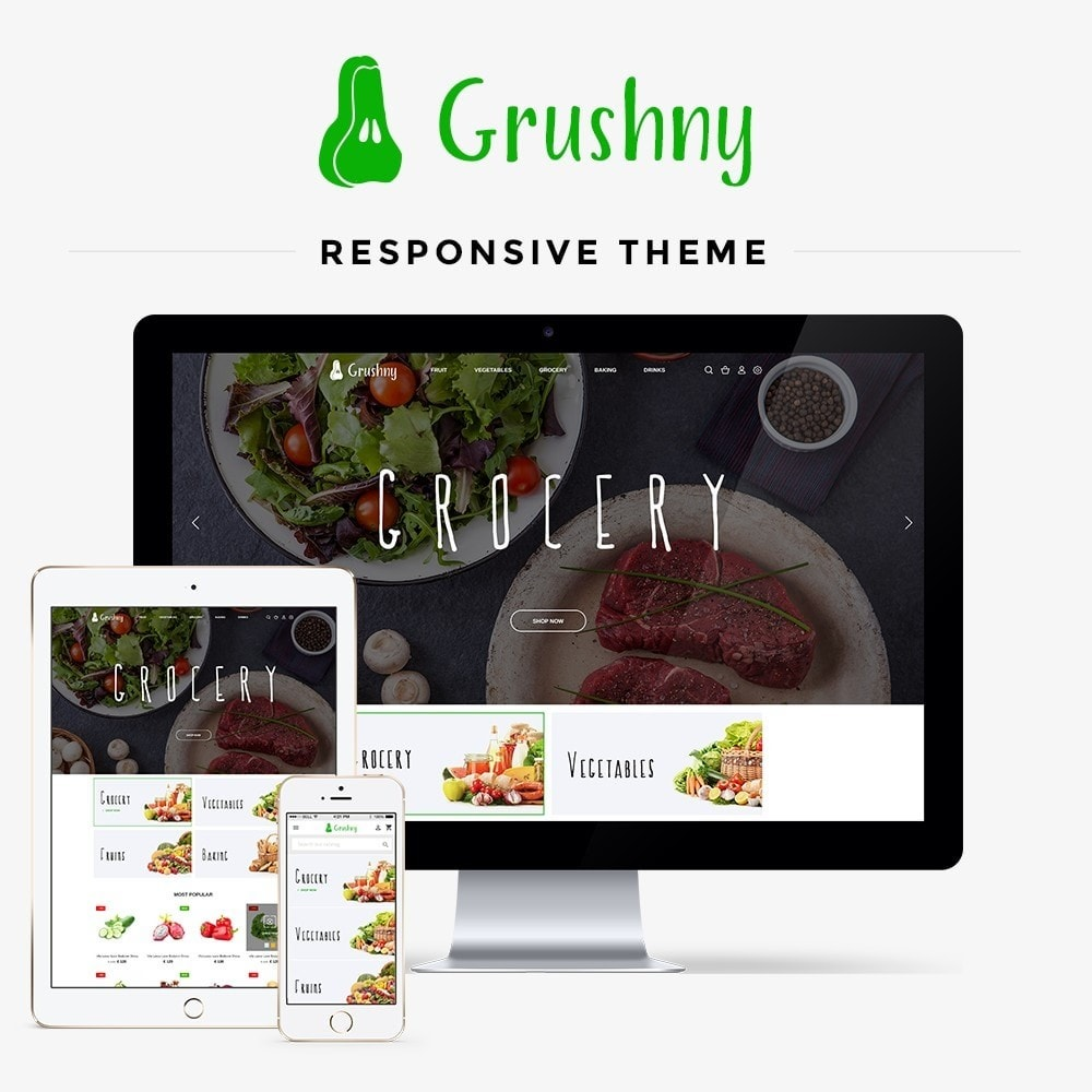 theme - Lebensmittel & Restaurants - Grushny - 1