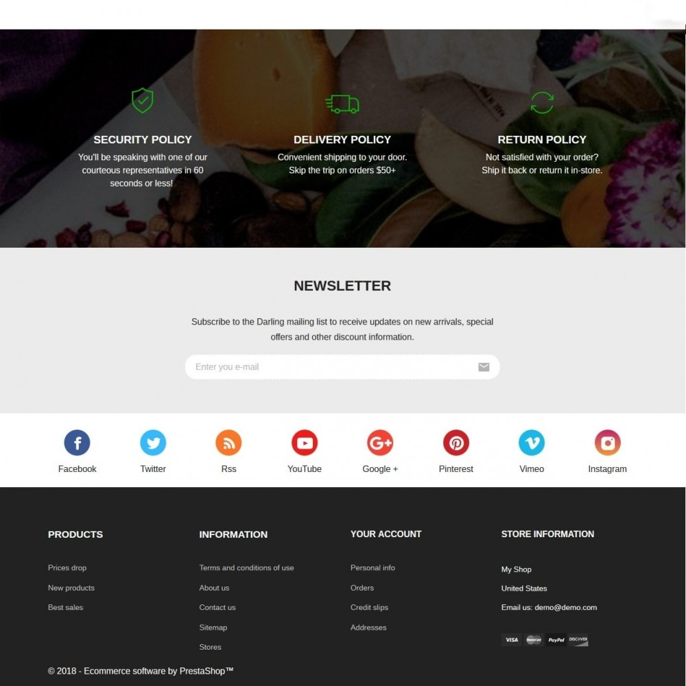 theme - Lebensmittel & Restaurants - Grushny - 4