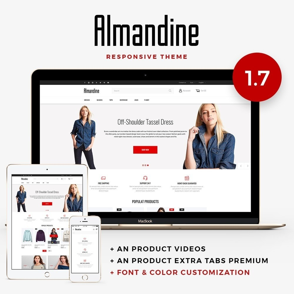 theme - Moda & Calzature - Almandine Fashion Store - 1