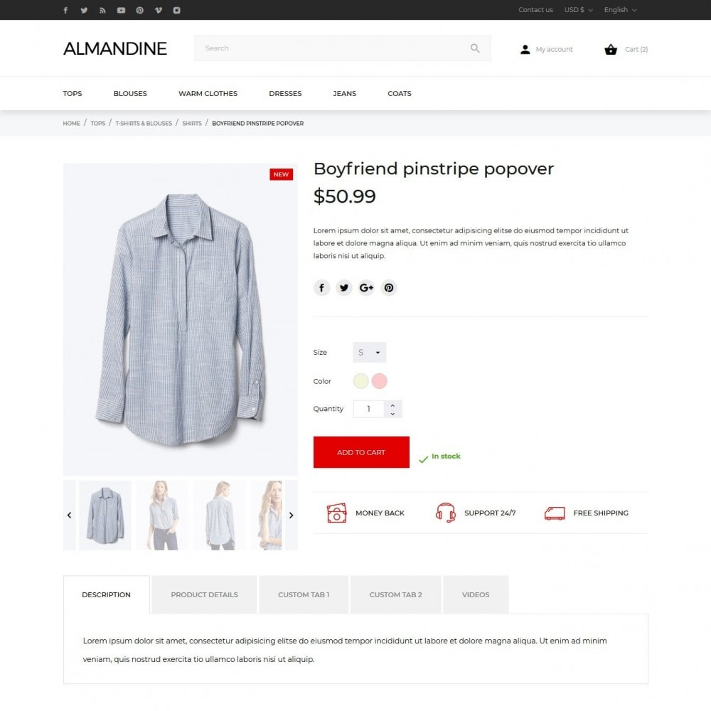 theme - Moda & Calzature - Almandine Fashion Store - 7