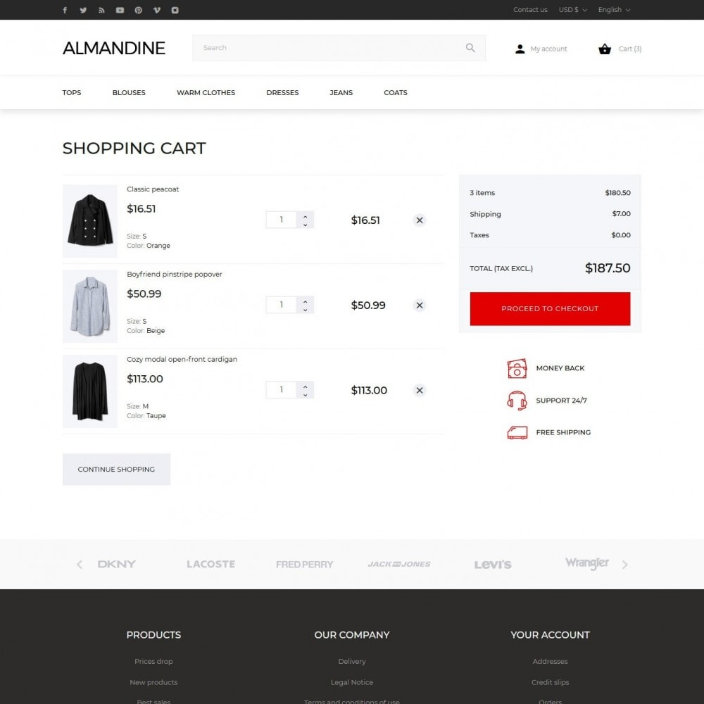 theme - Moda & Calzature - Almandine Fashion Store - 10