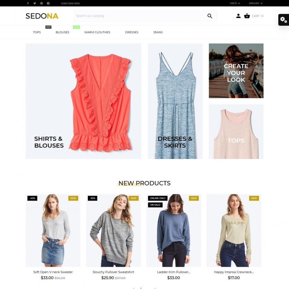 theme - Mode & Schoenen - Sedona Fashion Store - 2
