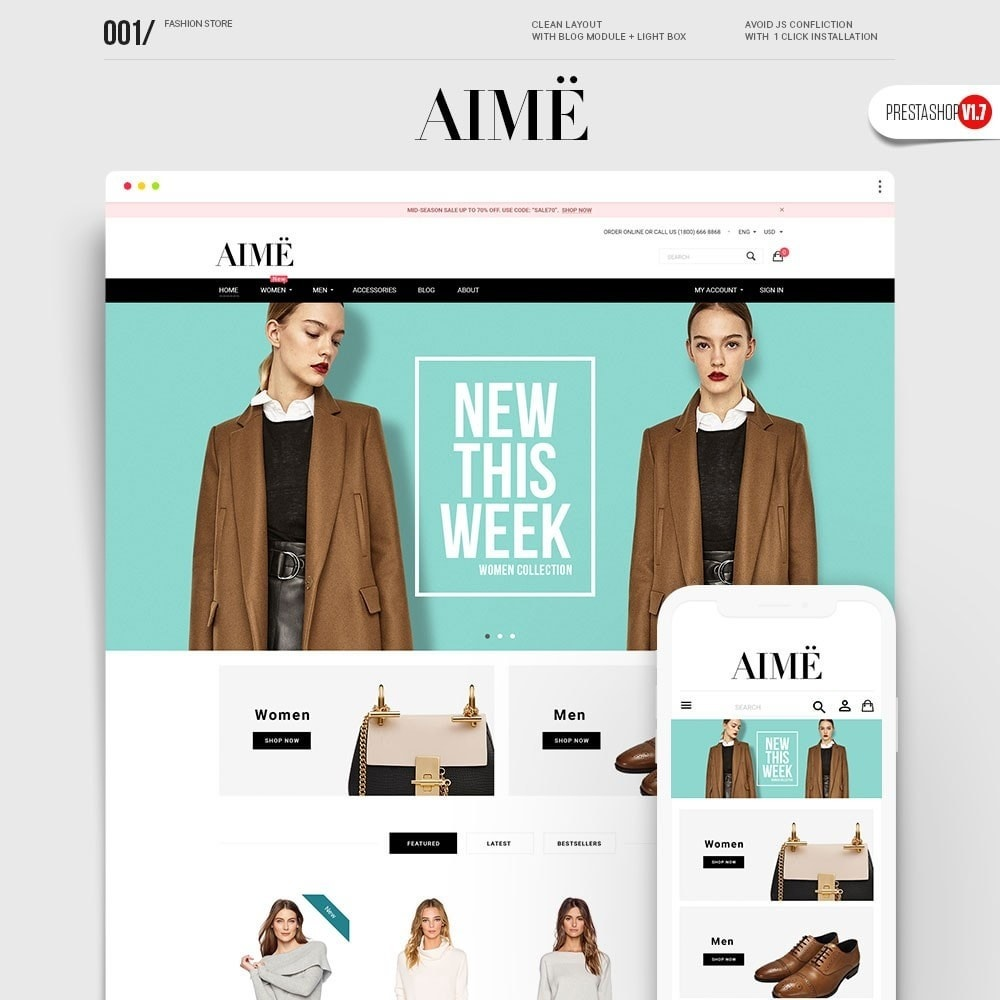 theme - Moda y Calzado - Aime Fashion - 1