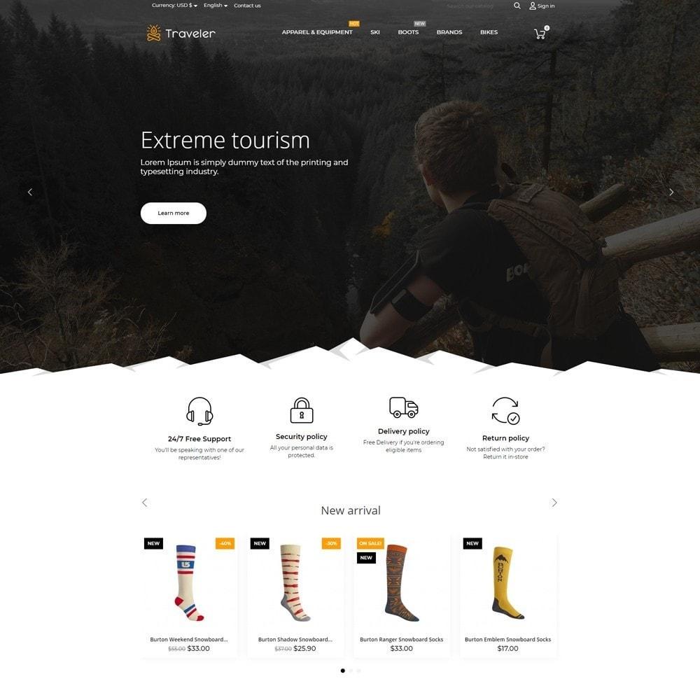 theme - Sport, Rozrywka & Podróże - Traveler - 2