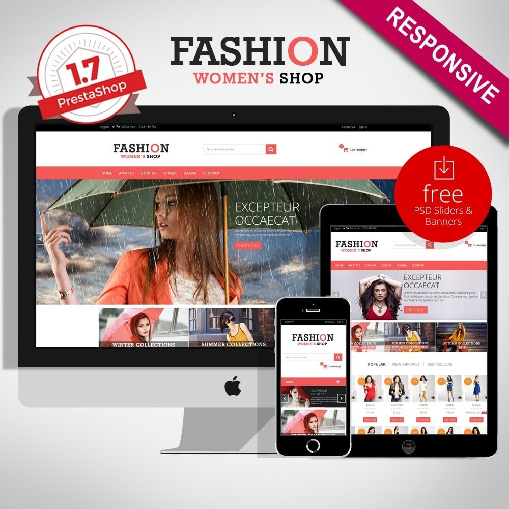 theme - Moda & Obuwie - Fashion Multipurpose HTML5 - 1