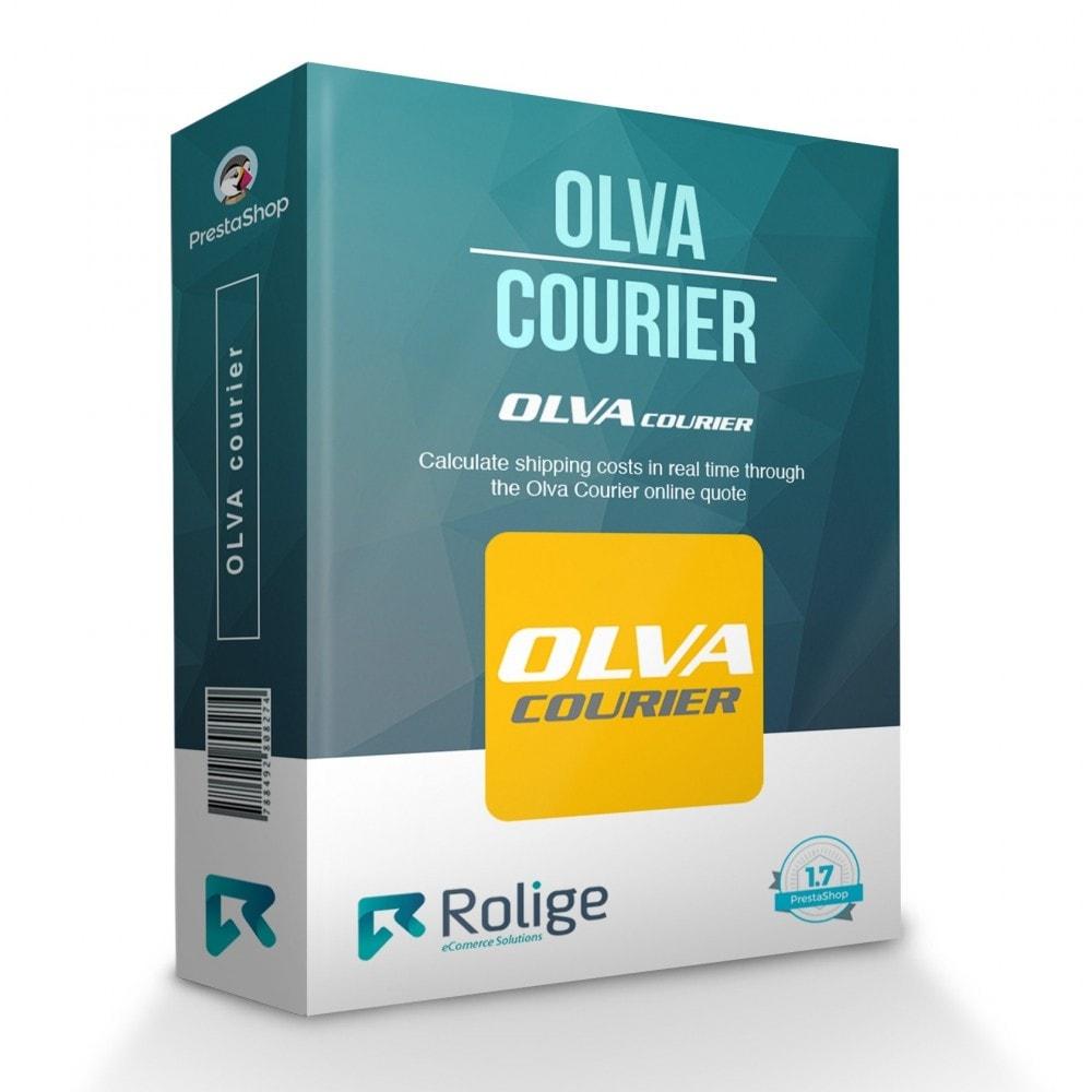 module - Versanddienstleister - Olva Courier - 1