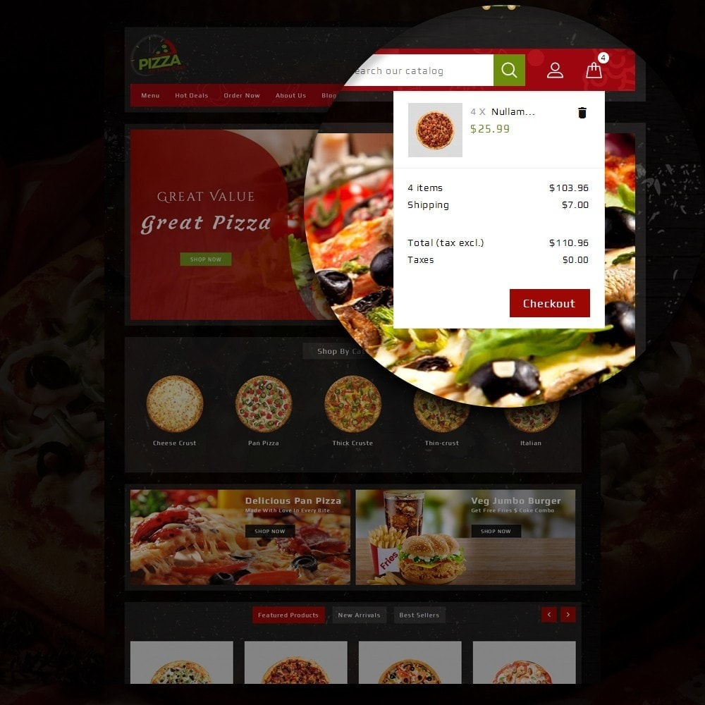 theme - Lebensmittel & Restaurants - Pizza Store - 8