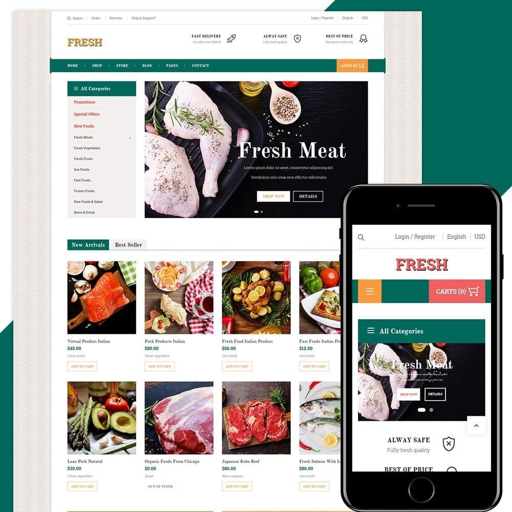 theme - Alimentation & Restauration - Fresh Store - 1