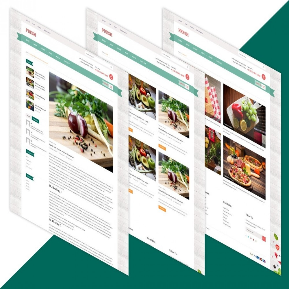 theme - Alimentation & Restauration - Fresh Store - 5