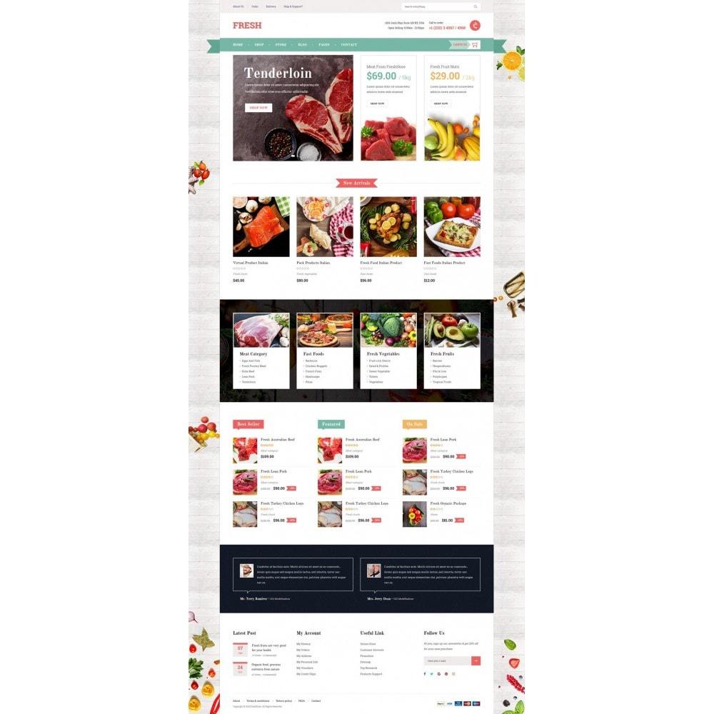 theme - Alimentation & Restauration - Fresh Store - 7