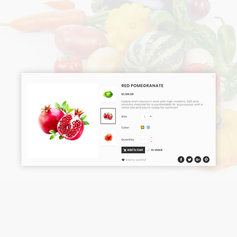 theme - Eten & Restaurant - Orangic – Fresh Green Foods Super Store - 14