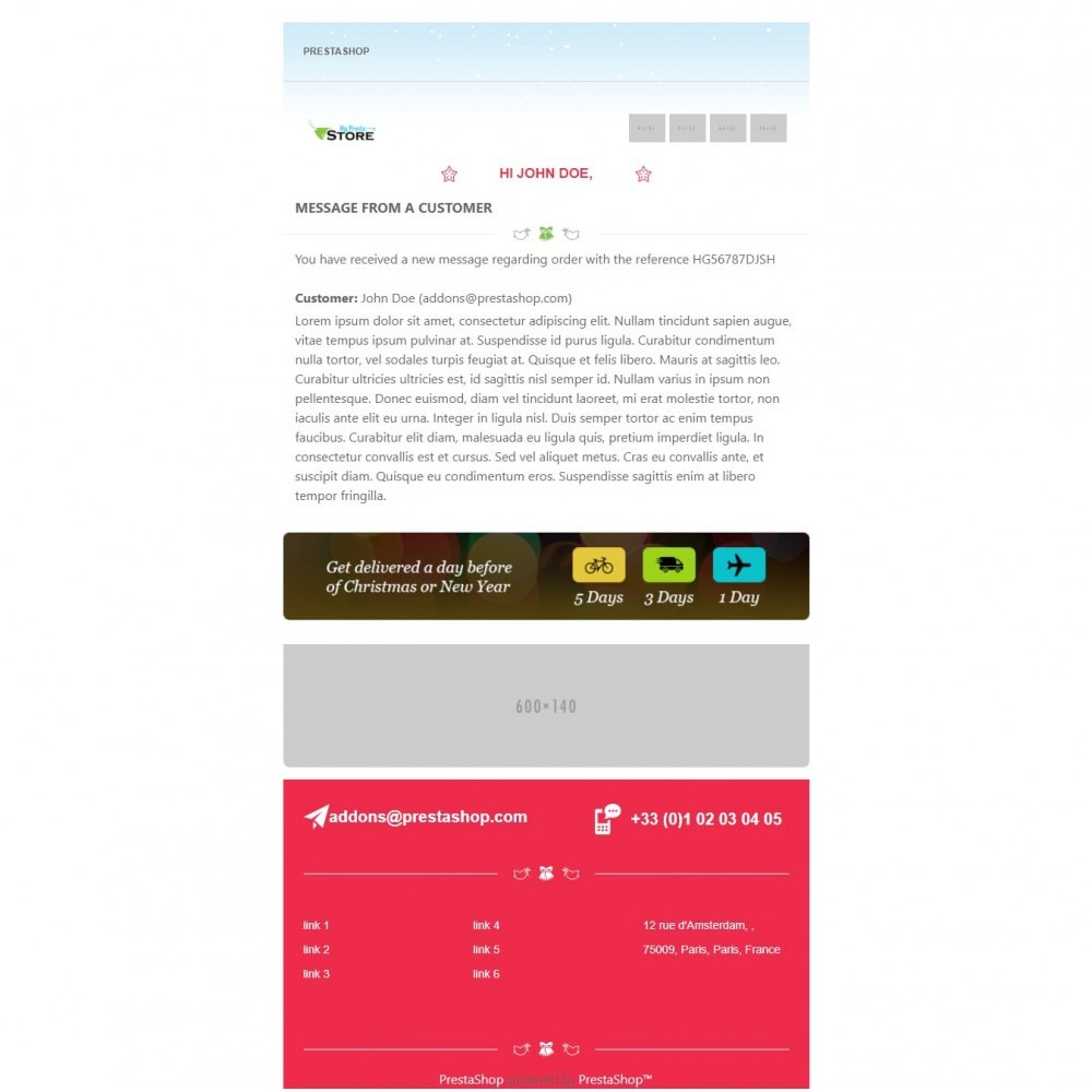 email - Email templates PrestaShop - Lingerie Multipurpose Mail - 3