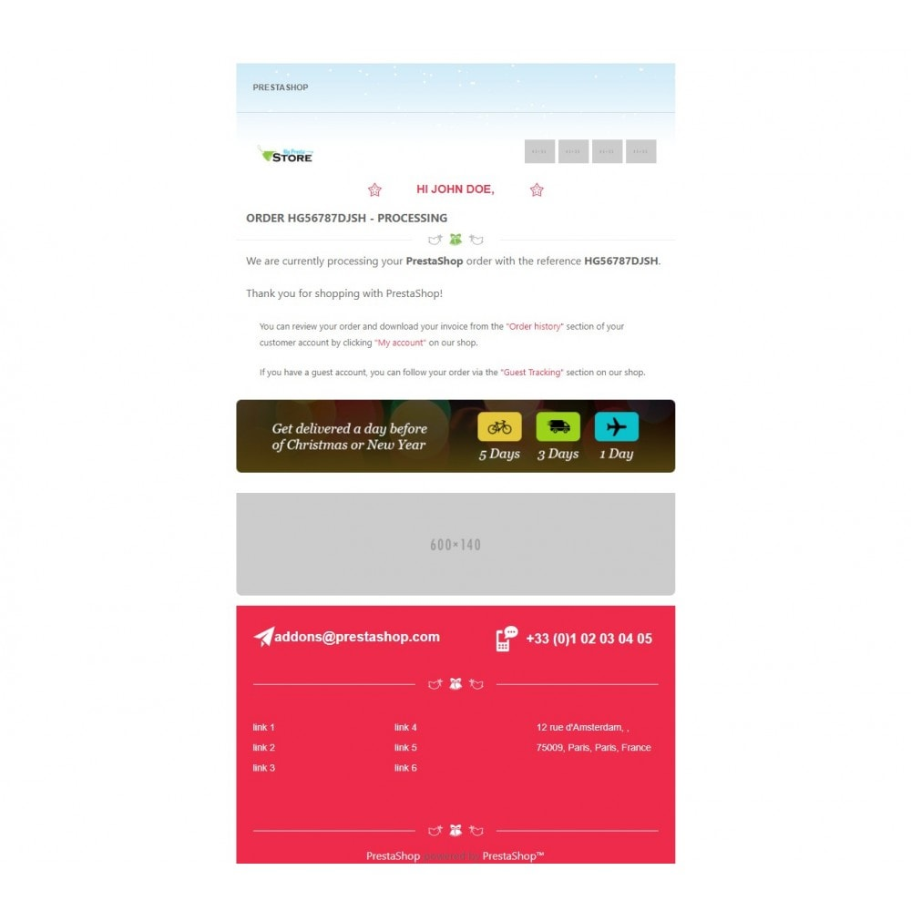 email - E-mailtemplates van PrestaShop - Lingerie Multipurpose Mail - 4