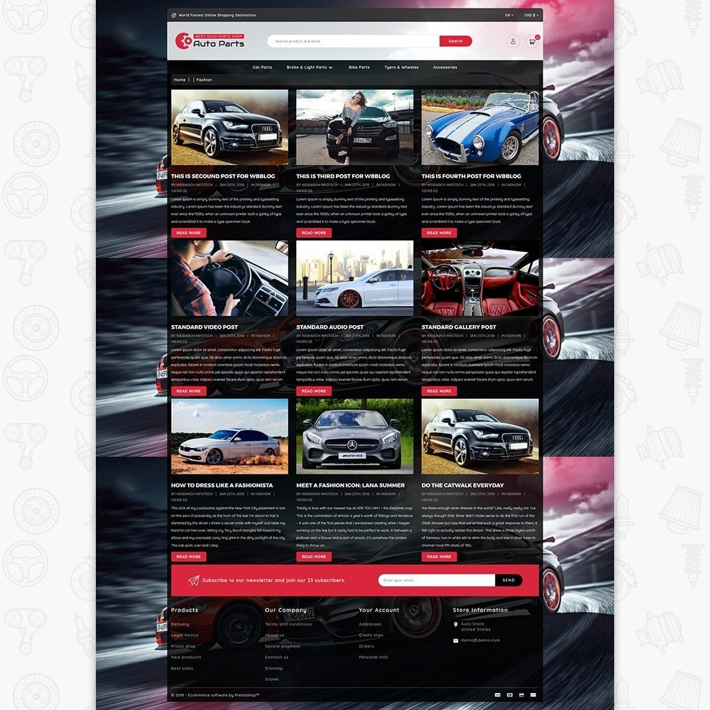 theme - Automotive & Cars - Auto Store - 6