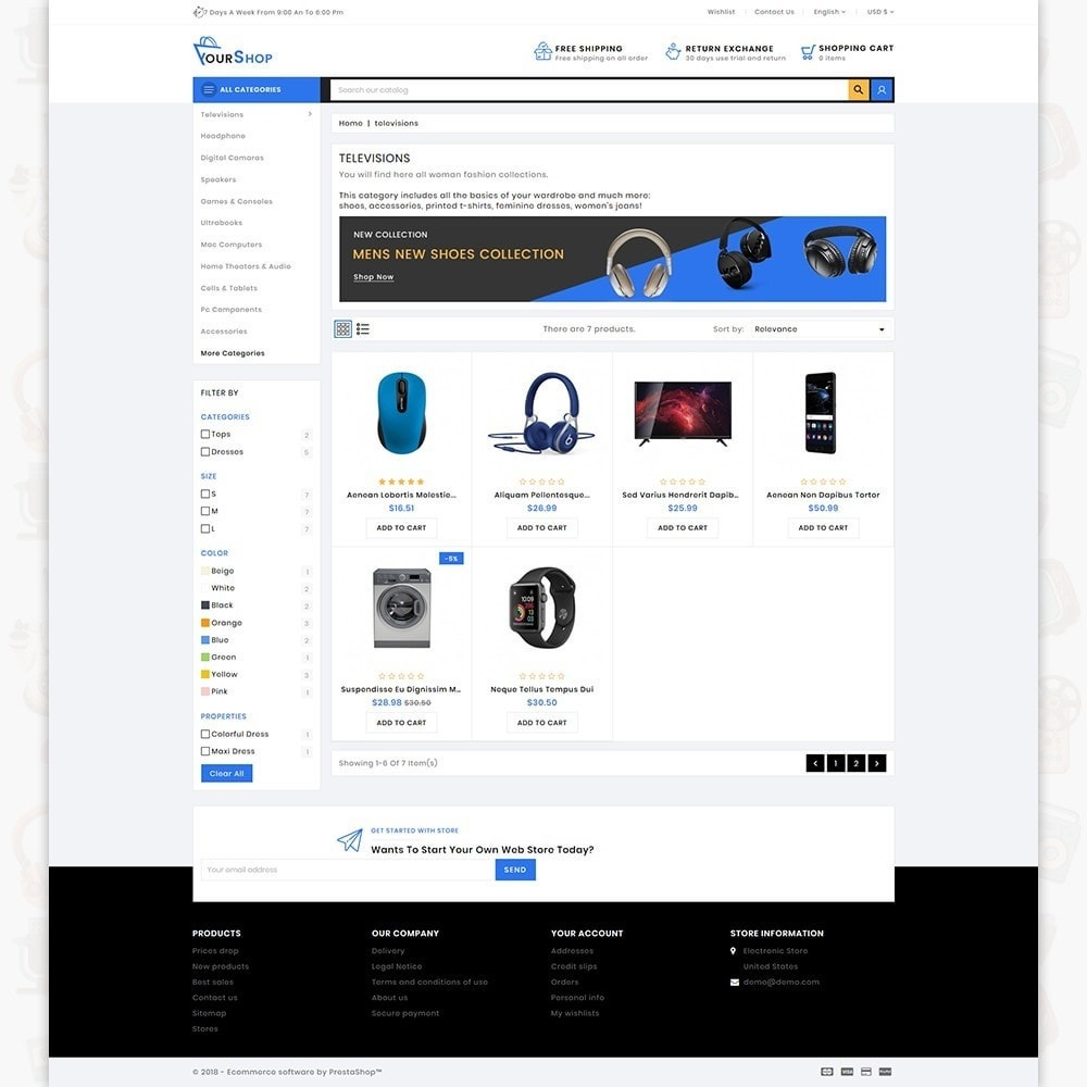 theme - Elektronik & High Tech - Your Shop - The Electronics Store - 3