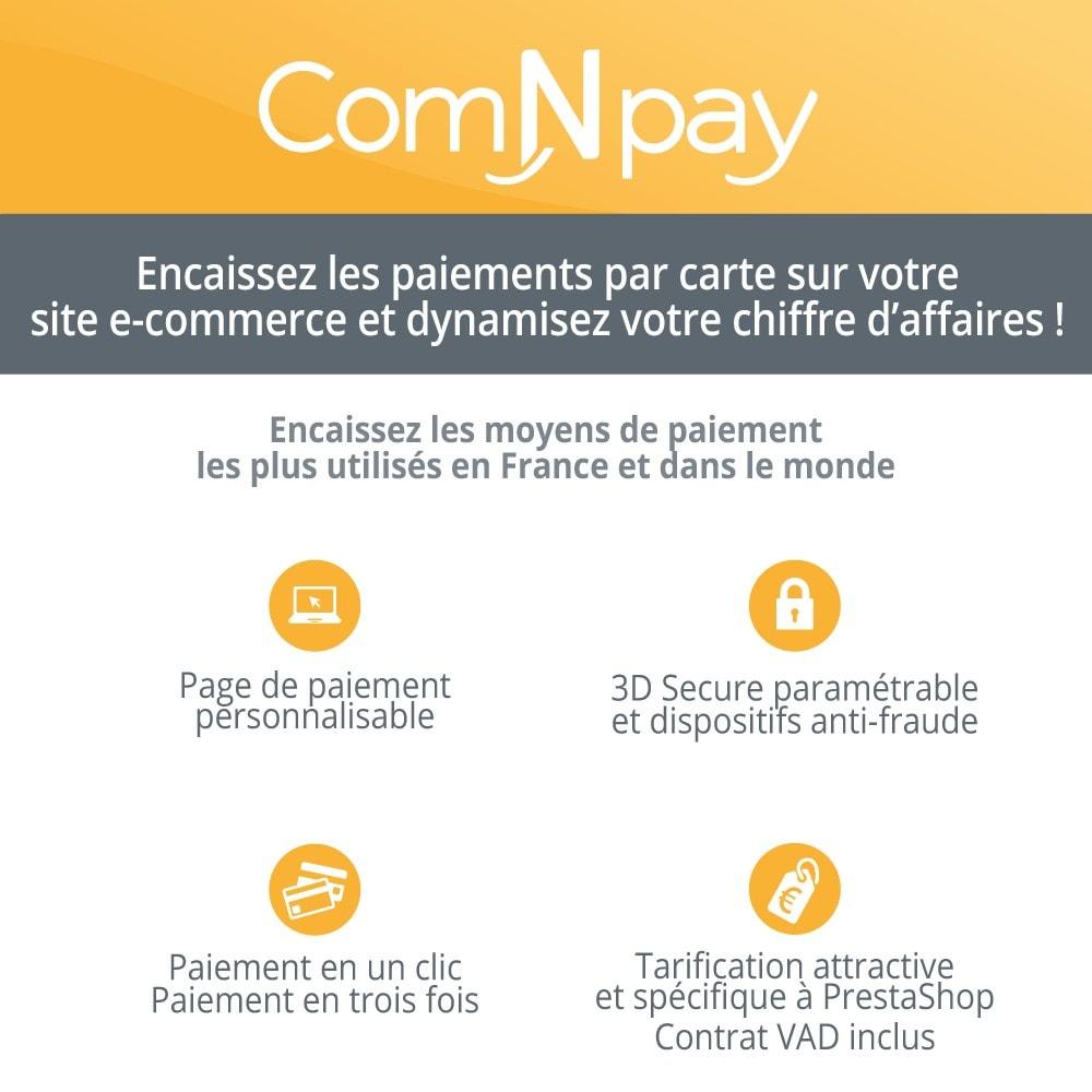 module - Paiement par Carte ou Wallet - ComNpay - 1