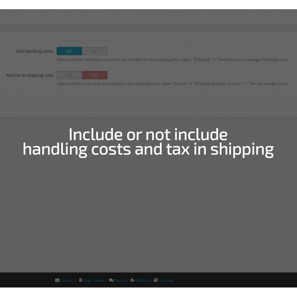 module - Verzendkosten - Shipping cost by Zip, Postal code, Country, State, City - 8