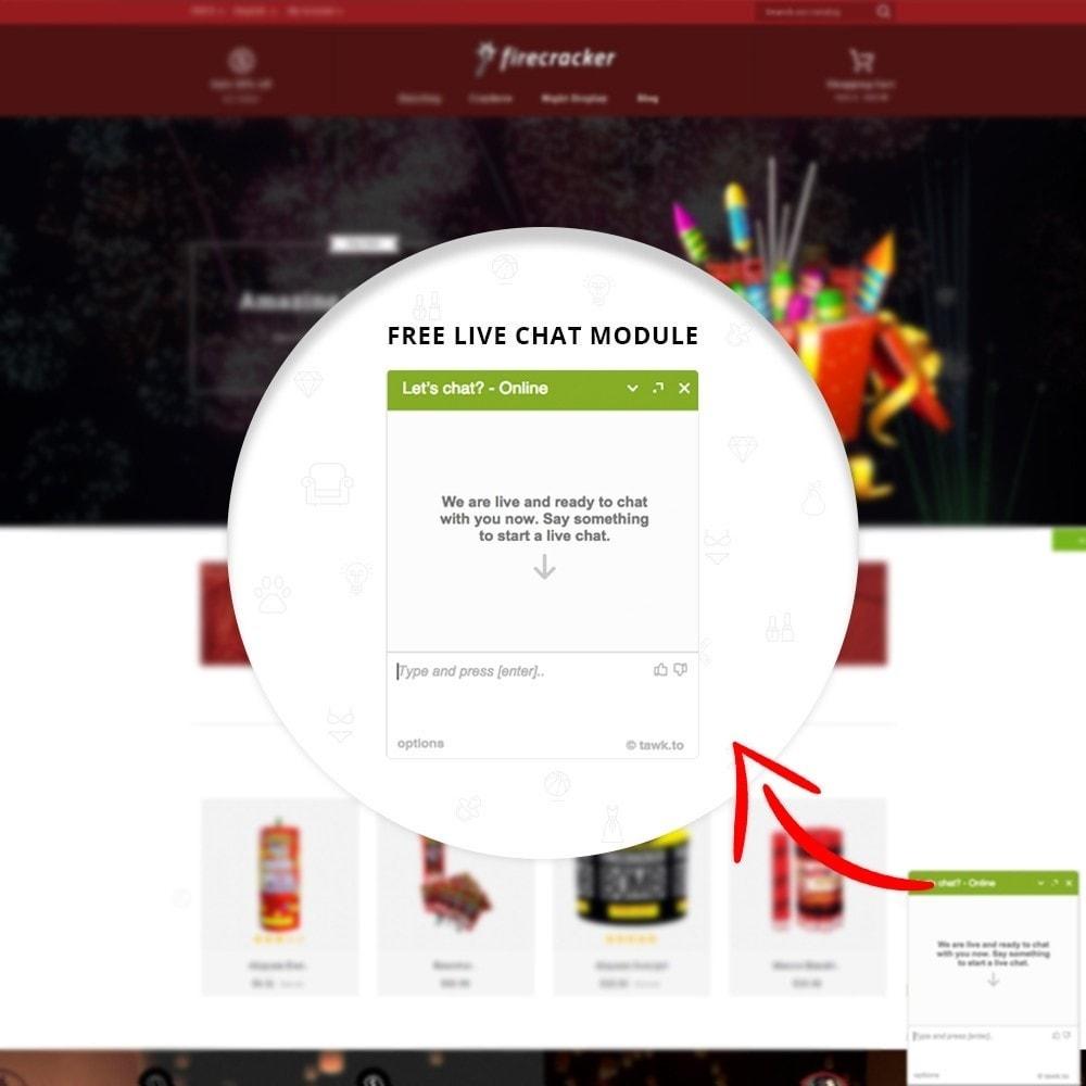 theme - Desporto, Actividades & Viagens - Firecracker Store - 7