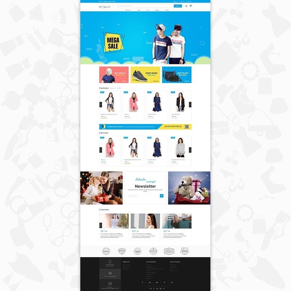 theme - Fashion & Shoes - MOShop -  The Fashion Store - 2