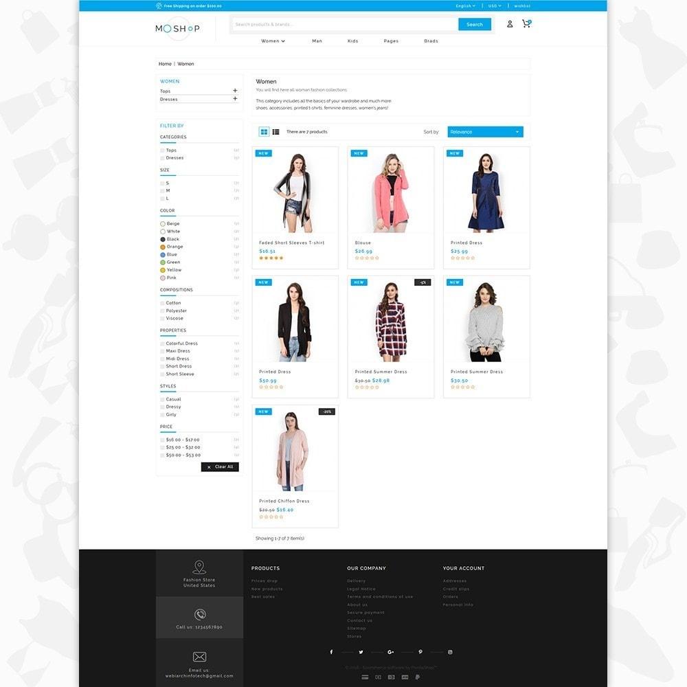 theme - Fashion & Shoes - MOShop -  The Fashion Store - 3